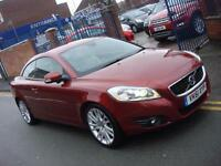 2011 61 PLATE Volvo C70 2.0D D4 SE Lux Manual in Red