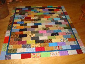 Handmade quilt top