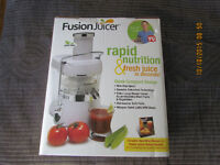 Jason Vale Fusion Juicer Stainless Steel - Centrifugal Juice Ext