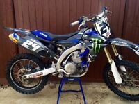 Yamaha yzf 450 2011 (ex Shaun Simpson bike) not crf,kxf,rmz,sxf