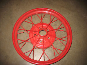 Model A Ford Wheel Rims ( RIMS ARE SPOKEN FOR )