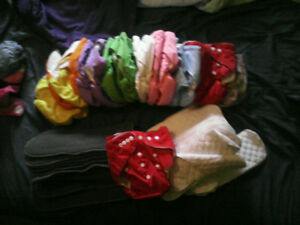 Snap button cloth diapers