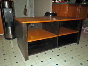 Stained Birch Entertainment Centre