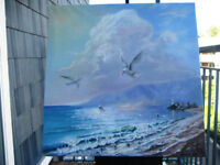 Oil and acrylic painting classes for adults