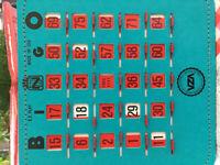 100 cartes de bingo à vendre 1.00 la cartes ou faite un offre