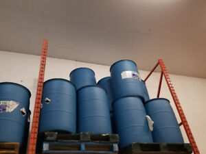 Heavy duty 45 gallon plastic drumbs/ barrels 40$ each