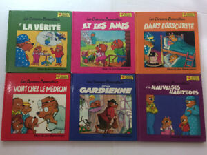 Collection 12 Livres Les Oursons Berenstains (Grolier)