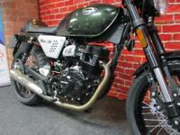 HANWAY HC125 cc CAFE RACER VERY LOW MILEAGE
