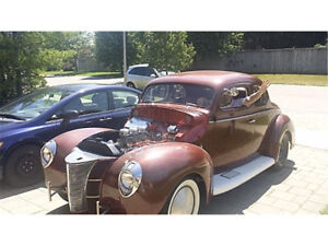 High Performance 1940 Ford Coupe