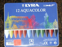 10.00 lyra 12 aquacolor watersoluble crayons