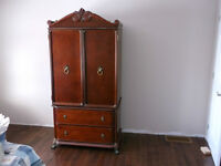 Bombay armoire or dresser