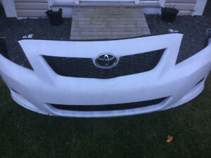 New Toyota Corolla Front Bumper Cover