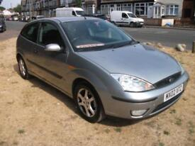 Ford Focus 1.6i 16v 2002.25MY Silver