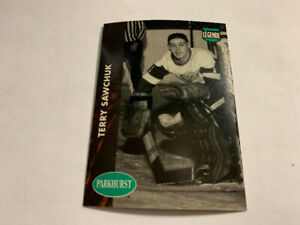 1991-92Parkhurst Collectibles French#PHC9Terry Sawchuk Red Wings