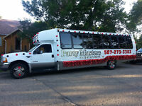 PARTY BUS DRIVERS NEEDED!!