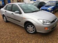 2000 'X' Ford Focus 1.6 Petrol. Auto. Automatic. Saloon Family Car. Px Swap