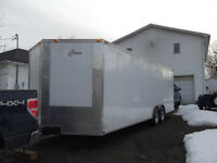 TRUCK & CARGO TRAILER FOR HIRE