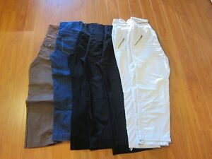 6 pairs of maternity pants: all Thyme brand, size L
