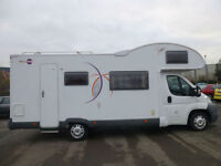 2010 Fiat MOOVEO C7 2.3 DUCATO,7 BIRTH,6 S/BELTS,BUNKBEDS,2 K/SIZE D/BEDS.