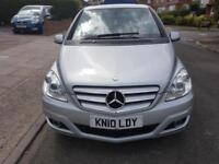 2010 MERCEDES B CLASS 1.5 AUTOMATIC