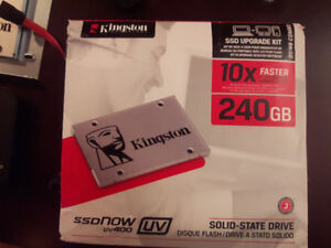 Kingston disque flash disc sdnow uv400 240gb solid-state drive