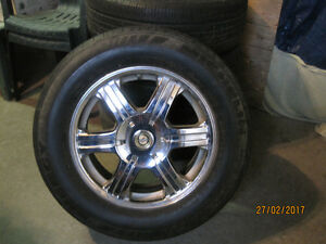 "4 17"" Michelin All Season Tires with rims for a 300"