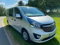 2018 Vauxhall Vivaro 1.6 L2H1 2900 SPORTIVE CDTI BITURBO 125 BHP PANEL VAN Diese
