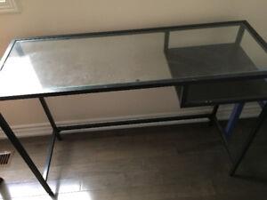 Table glass ikea
