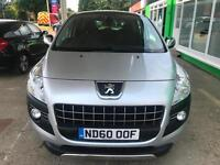 2010 Peugeot 3008 Crossover 1.6HDi AUTO - 2 Keys - 1 F Keeper - 6 Service Stamps