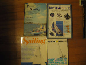 Four books about boats and boating