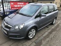 2008 VAUXHALL ZAFIRA ELITE, TOP OF THE RANGE, NOT PICASSO SCENIC TOURAN S MAX