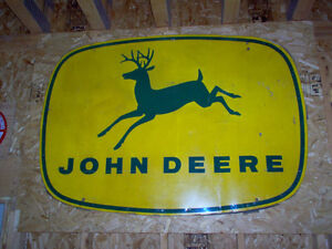 WANTED john deere signs,  any condition London Ontario image 1
