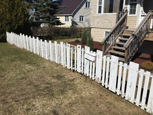 50 Feet Wood Fence for Sale - Pressure Treated