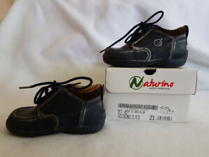 All leather toddler, children, kids shoes, Naturino, size 5.5