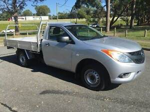 2012 MAZDA BT-50 (4X2) HIGHRIDER CAB CHASSIS 2.2 DIESEL 6SPD MAN Rochedale South Brisbane South East Preview