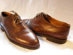 Kenneth Cole - 11.5 - Dress Shoes Dark Tan & trees -  $45.00