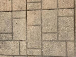 125 dalles de patio