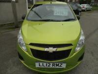 2012 Chevrolet Spark 1.0i + 5dr green met pas abs electric windows HATCHBACK Pet