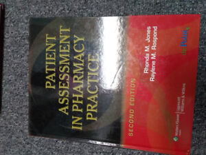 Patient assesment in pharmacy practice 2eme edition