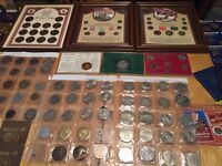 Coins, medal and medallion collection valued at over £2000