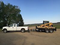 Big Jon's Skid Steer Services $80/hr