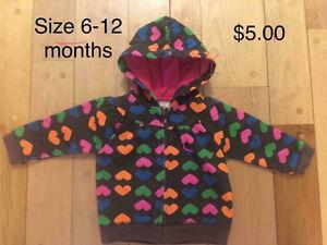 Hoodie 6-12 months