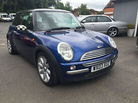 Mini COOPER 61K FSH PEPPER PACK, DRIVES WELL
