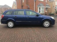 2006 VAUXHALL ASTRA 1.4 16v LIFE 5 DR ESTATE LONG MOT
