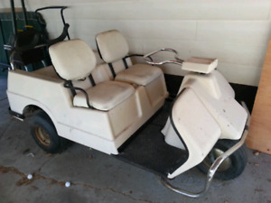 1983 harley Davidson golf cart