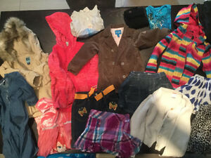 Large lot girls clothes size 4-5
