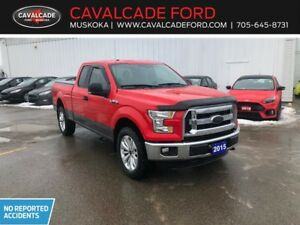 2015 Ford F150 4x4 Supercab XLT trailer tow pkg, backup cam!!