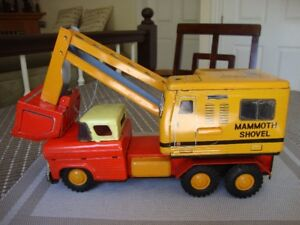 Mammoth Shovel Toy Truck