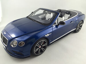 1/18 Bentley Continental GT V8S Convertible by GT Spirit - NEW