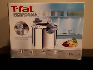 BRAND NEW T-Fal Pasta Pot with strainer lid & timer